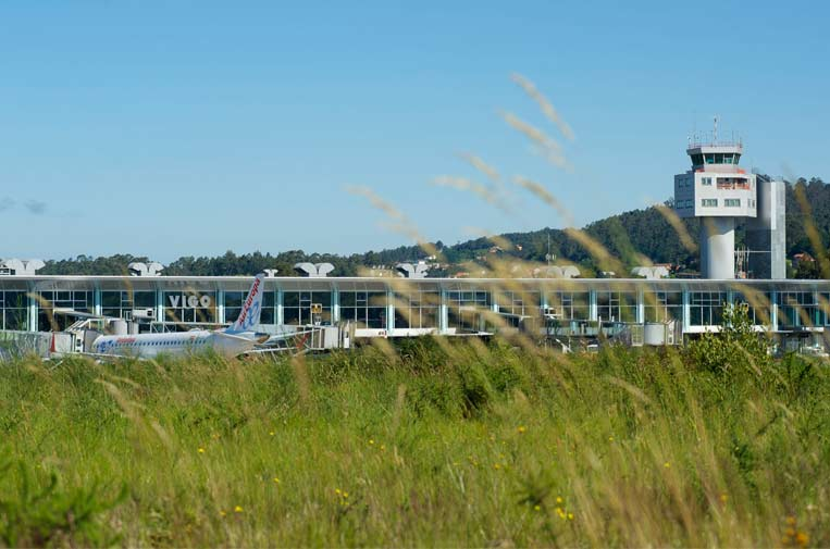 <p>Aeropuerto de Vigo. Foto: AENA.</p>
