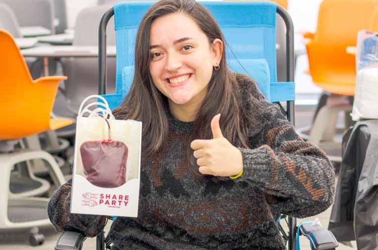 Las plataformas digitales podrían impulsar la donación de sangre entre los jóvenes