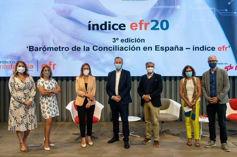 El estado de la conciliación en España experimenta una mejoría de cinco puntos