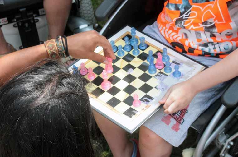 <p>Colonias de verano para jóvenes con y sin discapacidad. Foto: ASEM.</p>