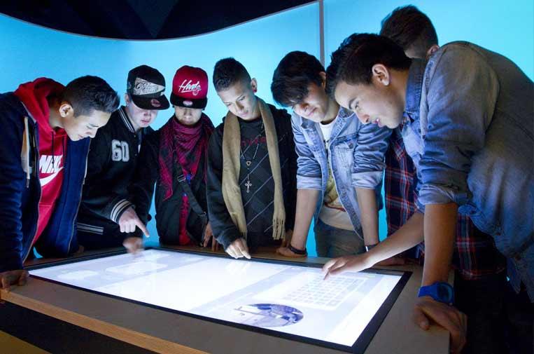 """<p>'CaixaLab Experience', en el CaixaForum Barcelona. Foto: Fundación """"la Caixa"""".</p>"""