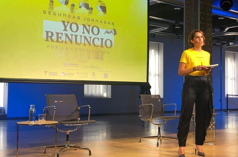 <p>Laura Baena, presidenta de la Asociación Yo No Renuncio.</p>
