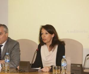 Mónica de Linos, directora de la Fundación ICO, ha inaugurado el  taller