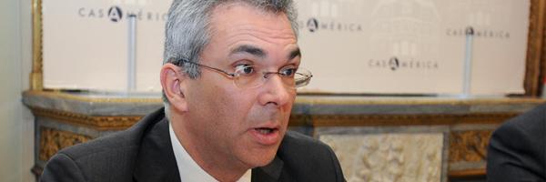 Carlos Izquierdo, consejero de Políticas Sociales y Familia de la Comunidad de Madrid.