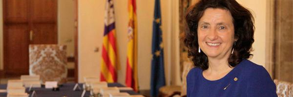 Fina Santiago, consejera de Asuntos Sociales de Islas Baleares