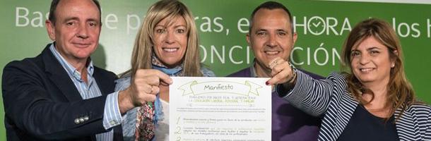 Iberdrola firma con Arhoe, Adecco y la Fundación Alares un manifiesto en apoyo a la conciliación laboral y personal de los trabajadores