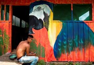 Pintura para el desarrollo de comunidades indígenas